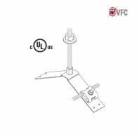 Baze VFC® captatoare, ajustabile pentru coama acoperis. UL® 96