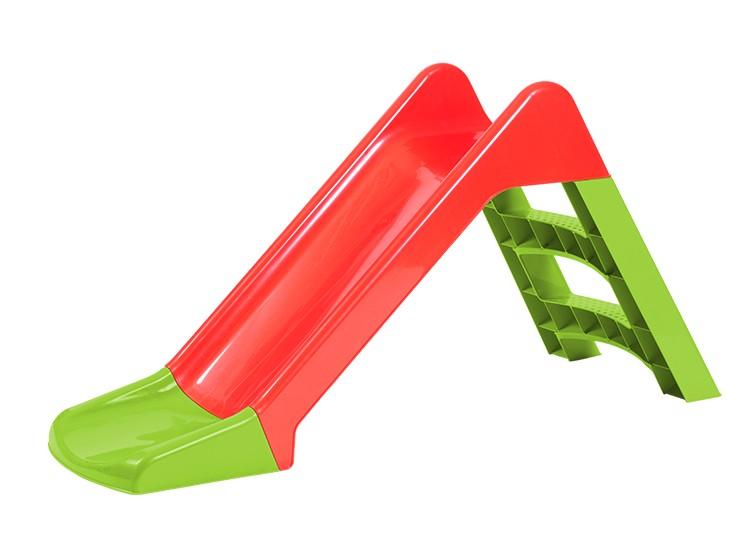 Tobogan mic 67 cm, rosu-verde