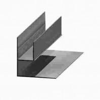 """Profil """"Universal / dublu F"""" din aluminiu"""