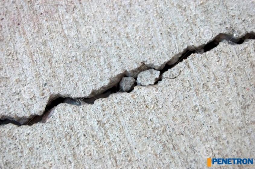 Fisura a betonului