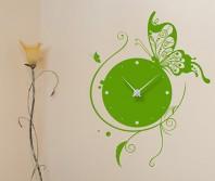 """Sticker tip ceas de perete """"Fluture"""""""