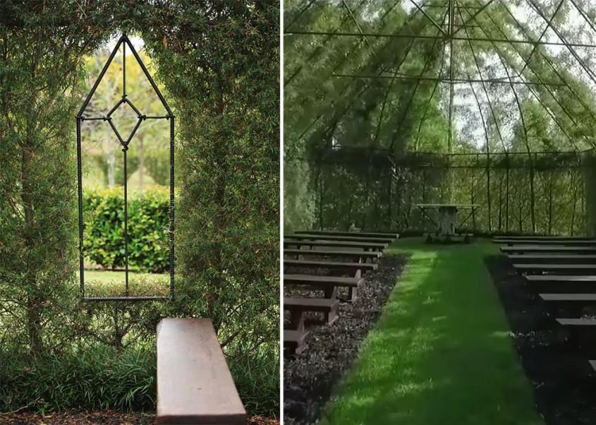 5. Biserica Arbore (Tree Church), Noua Zeelanda