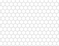Perforatii hexagonale