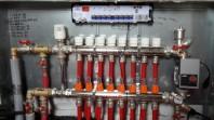 Incalzire in pardoseala cu agent termic - sistem Tacker