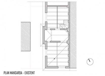 Remodelare mansarda locuinta existenta - str Ioan Bianu 10.11  Bucuresti AsiCarhitectura