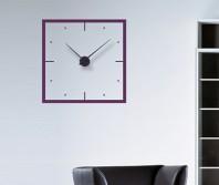 "Sticker tip ceas de perete ""Minimalist Patrat"""