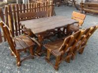 "Set mobilier grădină ""Rustic"""