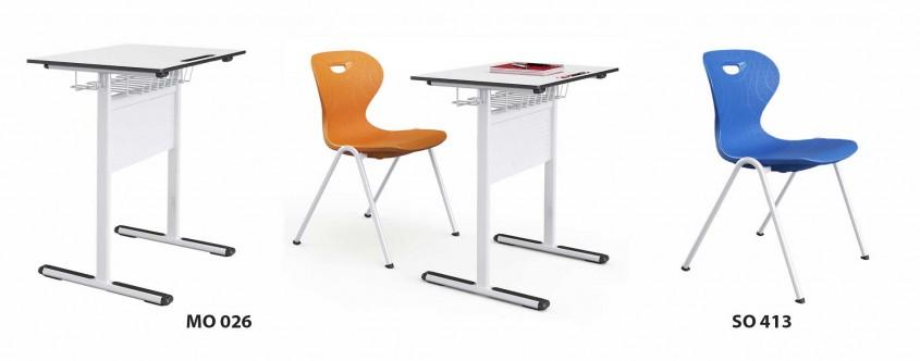 Ghid pentru alegerea mobilierului şcolar potrivit în contextul COVID-19