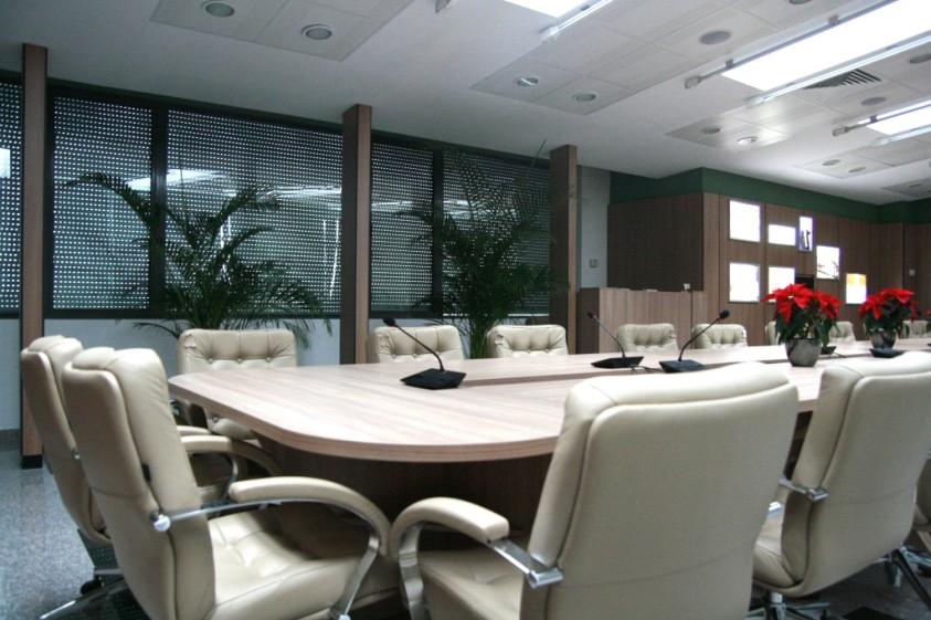 Detalii amenajare sala consiliu  Bucuresti SAINT-GOBAIN CONSTRUCTION PRODUCTS ROMANIA - DIVIZIA RIGIPS