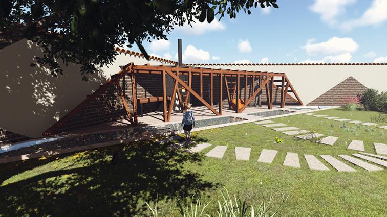Foisor In Gradina Buzau Un Proiect De Asicarhitectura