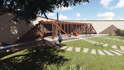 Foisor in gradina Buzau  Buzau AsiCarhitectura