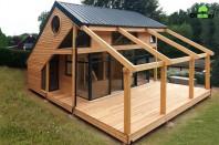 Casa din lemn - Pont de Salars