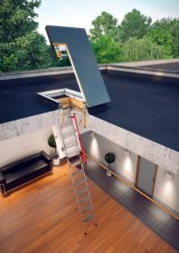Trapa de acces pentru acoperis terasa - DRL