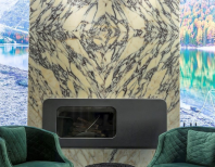 Lastre Marmura Arabescato Polisata (Bookmatch) 2 cm - Translucida - PSP-7512