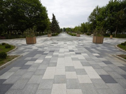 Alei din Parcul Unirii, dupa amenajare  Alba Iulia ELIS PAVAJE
