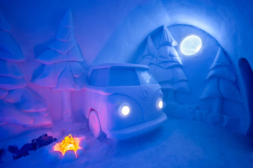 Imagini de poveste cu primul hotel de gheață din lume, redeschis pentru al 29-lea sezon