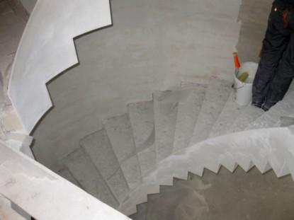 Restaurare in zona scarii - Casa Memoriala Ilie Birt Brasov SAINT-GOBAIN CONSTRUCTION PRODUCTS ROMANIA - DIVIZIA