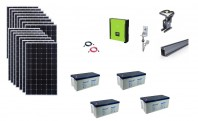 Sistem fotovoltaic hibrid Poweracu 5kwp prindere tabla