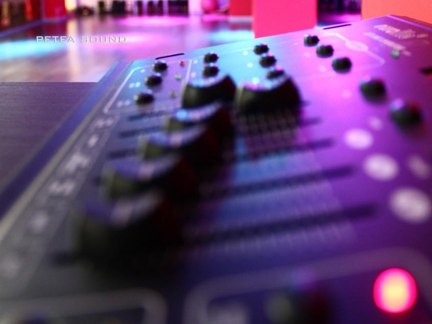 Sunet și lumini pentru sală fitness la EliteGym Galați - Proiect Petea Sound