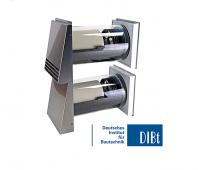 Ventilatie cu recuperator de caldura performant hexagonal - Sevi160 DUO
