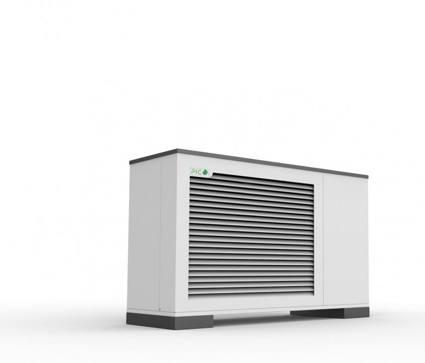 Pompa de căldură aerotermală ECOAir Compact WPLC 2-17 kW