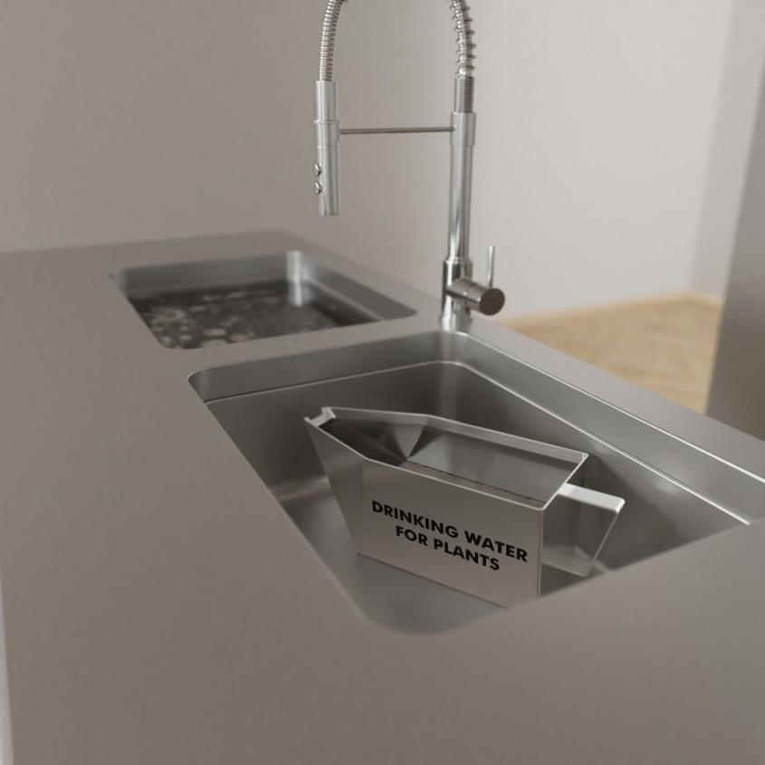 """O arhitectă din Viena a creat bucătăria """"zero waste"""", care te scapă de grija gunoiului"""