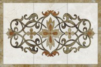 Medalion Floral dreptunghiular 1 SIDORA