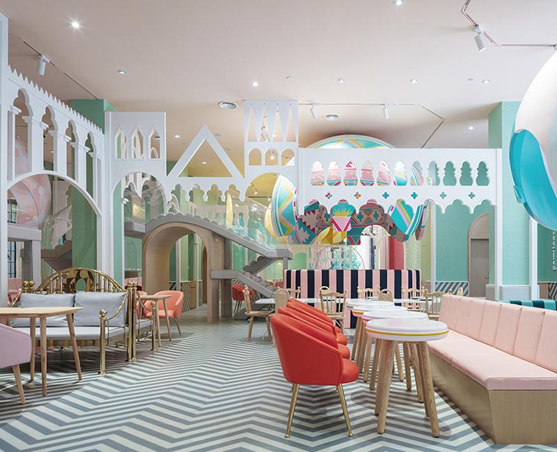 Nevoia de restaurante cu loc de joacă pentru copii