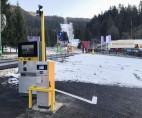 Instalarea sistemului de parcare cu plată la Hotelul Edelweiss