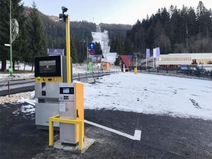 Proiect TRITECH - sistem de parcare cu plata  Poiana Brasov TRITECH GROUP