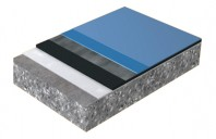Sika®-ComfortFloor® Pro - Sapa izolatoare fonic, colorata, cu emisie redusa de compusi organici volatili COV, nivelata