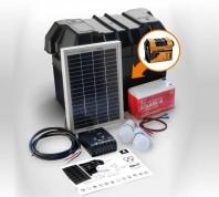 Kit solar Xunzel Off-Grid complet pentru iluminat SOLARLIFE5i