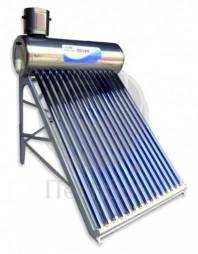 Kit solar nepresurizat compact cu boiler inox 150 litri si 15 tuburi vidate - ITechSol® RTTS1800
