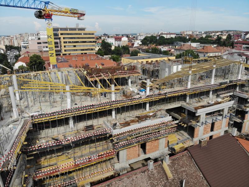 Premieră în execuția de structuri cu cerință de beton aparent