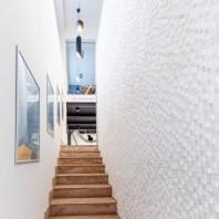 Mozaic Marmura Thassos 3D Antichizat - Lichidare stoc MPN-2035