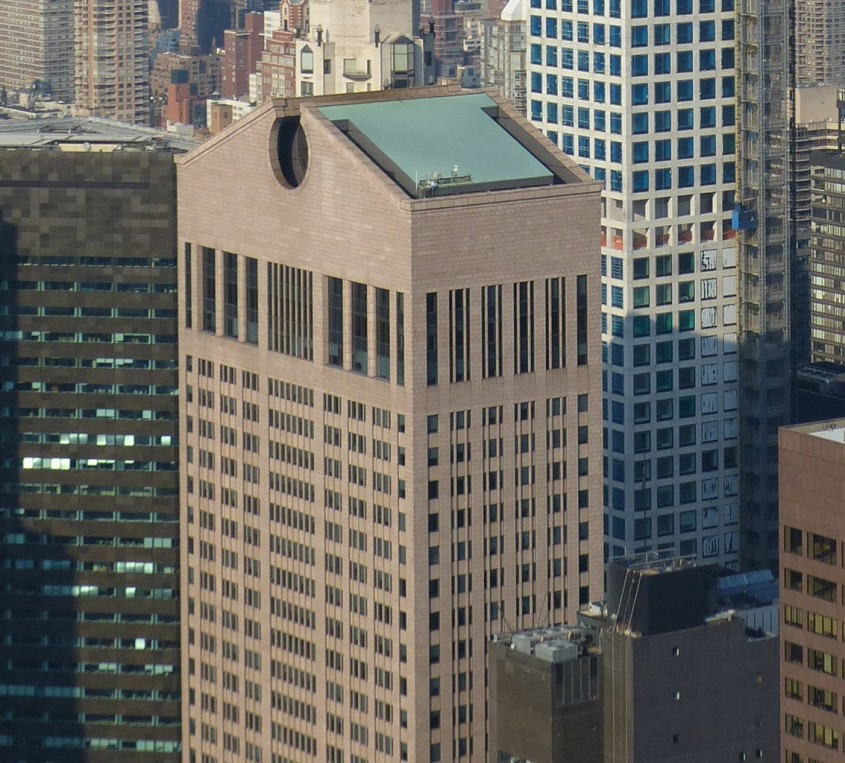 550 Madison Avenue (anterior AT&T Building and Sony Tower), New York, 1983