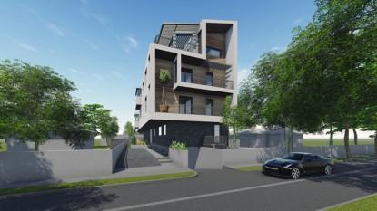 Locuinte colective D+P+2E+M - Bucuresti - str. Peris - R6  Bucuresti AsiCarhitectura