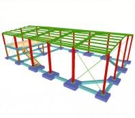 CYPE 3D - Putere, eficienta si productivitate pentru structuri din otel, lemn, aluminiu si beton