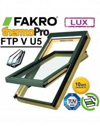 Fereastra cu 3 sticle Fakro FTP-V U5 Kripton