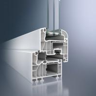 Profil din PVC pentru usi de exterior - Schüco Corona SI 82