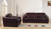 Canapea din piele cu fotoliu - CORSA