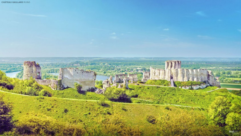 Castelul Gaillard, Franta