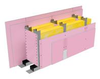 Perete SL250, CW75@60, 2x2 FLAM PLUS 12.5 + MW