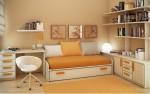 Mai mult loc in camera copiilor: spatii de depozitare sub pat