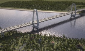 SIXENSE GROUP a finalizat instalarea sistemului de monitorizare structurala pentru Ohio River Bridge East End Crossing