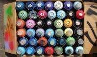 Bricolaj despre bricolaj - vopseaua spray Pentru ca multe dintre proiectele de bricolaj se realizeaza cu