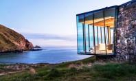 Casa de vacanta pe malul marii realizata din materiale locale Casa de vacanta Annandale Seascape proiectata