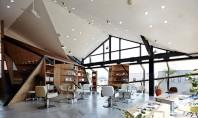 Un vechi restaurant japonez transformat in salon de coafura Arhitectul japonez Cohta Asano a transformat spatiul