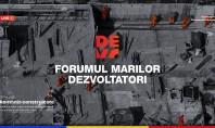 """""""România Construiește"""" a treia ediţie a Forumului Marilor Dezvoltatori DEVO Evenimentul va putea fi urmărit LIVE"""