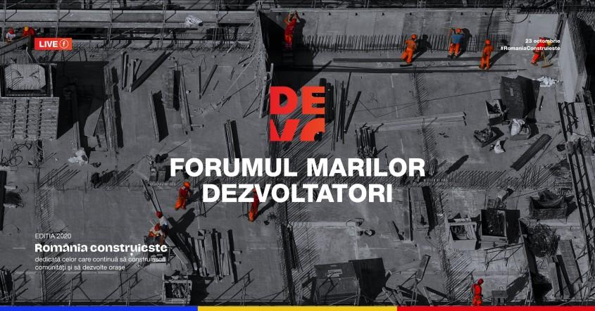 """""""România Construiește"""", a treia ediţie a Forumului Marilor Dezvoltatori DEVO"""